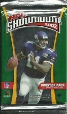 NFL SHOWDOWN 2002 CCG - BOOSTER PACK