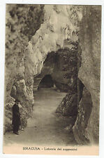 Stone Quarry of Capuchin in Siracusa/Syracuse, Sicily, Italy, 1910s