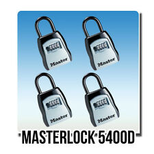 Lot of 4 Master Lock 5400D Select Access Key Box Set-Your-Own Combination