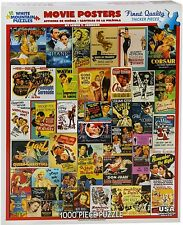 Classic Movie Posters 1000 piece jigsaw puzzle   750mm x 600mm   (wmp)