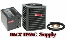 1-1/2 Ton 13 Seer Central Air AC Add On - GSX130181 + Evaporator Coil + Line Set