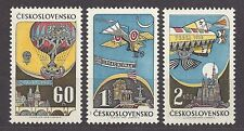 Czechoslovakia  1968 MNH Mi  1767-1769  Sc C72-C74 AIR POST STAMPS