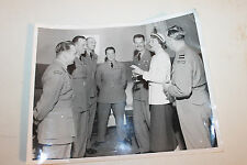 "Original WW2 Royal Canadian Air Force Officers w/Woman Photograph 10"" by 8"""