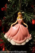 DISNEY PRINCESS CINDERELLA PINK DRESS CUSTOM CHRISTMAS ORNAMENT NEW SO CUTE