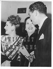 NORMA SHEARER Scarlet Pimpernell MERLE OBERON Candid Photo LUCIEN HUBBARD rare