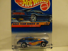 Hot Wheels #728 Blue '63 Corvette w/5 Spoke Wheels  w/Struts