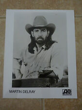 Martin DelRay 8x10 B&W Publicity Picture Promo Photo
