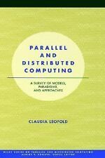 Parallel and Distributed Computing: A Survey of Models, Paradigms and -ExLibrary