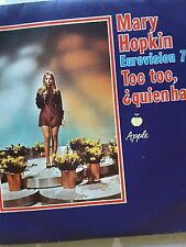 VINTAGE 1970 MARY HOPKIN EUROVISION ENTRY 45 RPM VINYL KNOCK KNOCK, WHO'S THERE?