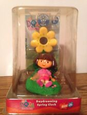 Dora the explorer daydreaming spring clock nick jr photo holder