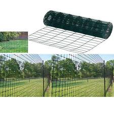 1 200 mm de haut en pvc vert escrime 25mts Jardin Clôtures, 4 pieds