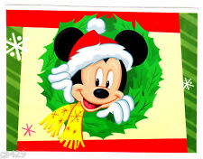 "6"" DISNEY MICKEY MOUSE CHRISTMAS HOLIDAY  WALL SAFE STICKER BORDER CUT OUT"