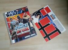 Force Attax Star Wars Movie Serie 1 +LE1+LE2+LE5 Limitiert Topps Sammelmappe