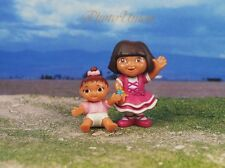 DORA THE EXPLORER & Friends Set 2 Figure Model Cake Topper Decoration K364 K380