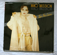 Disque Vinyle 45 tours Maxi - Miko Mission Two for Love