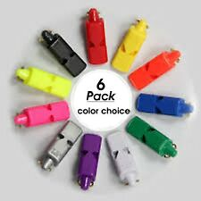 6 PACK = $4.28 per Fox 40 Mini Whistle Plus $5.00 with International shipping
