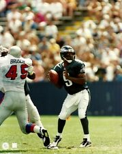 RODNEY PEETE 8x10 PHOTO Action Shot vs Patriots Tedy Bruschi PHILADELPHIA EAGLES