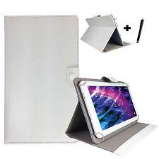 7 zoll Tablet Pc Tasche Schutz Hülle - Huawei Ideos S7 Slim 7 - Weiß 7