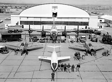 The NACA Test Force at the High-Speed Flight Station 1950 8 x 10 Photograph