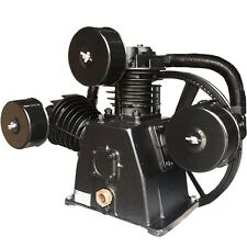 5 HP Three Cylinder Single Stage Air Compressor Pump, Cast Iron with Disc Valves