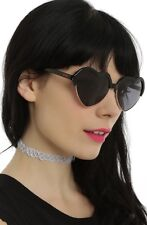 Disney Alice In Wonderland Queen Of Hearts Heart Shape Sunglasses New With Tags!