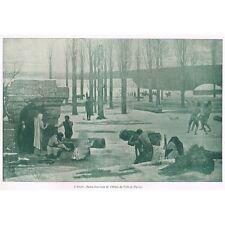ART et DÉCORATION Études Puvis De CHAVANNES Le COUPE-PAPIER Novembre 1898 N°11