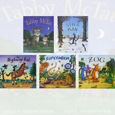 Julia Donaldson Collection 5 Books Set High way Rat, Stick Man, Tabby Mctat,New