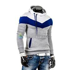 Men's Winter Slim Fit Hoodie Warm Hooded Sweatshirt Coat Jacket Outwear Sweater