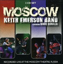 Moscow - Keith Band Emerson (2011, CD NEUF)2 DISC SET