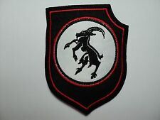 GOATMOON  SHIELD EMBROIDERED  PATCH