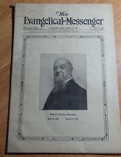 MARCH 26 1923 ANTIQUE COPY OF THE EVANGELICAL MESSENGER SPIRITUAL STORIES & ADS