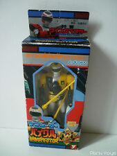 Figurine Winspector Jaune Bikle Tector / Yutaka 1990 Made in Japan