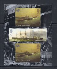 GREAT BRITAIN  2004 GREAT EASTERN/GREAT WESTERN booklet pane (scott 2356a) MNH