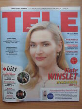 KATE WINSLET on front cover TELE MAGAZYN 51/2015 in.Justin Bieber,Marlon Brando