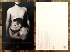 U2 Songs Of Innocence Ltd Ed Discontinued RARE Postcard +FREE Rock Pop Stickers!