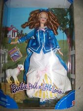 Barbie Had a Little Lamb 1998 Doll Beautiful Red Hair