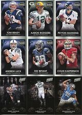 2014 Panini Black Friday Football 12 Card Lot with Aaron Rodgers NM Condition