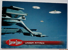 Captain scarlet-individuelle trading card #32, under attack-imparable cartes