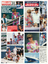 Princess Diana - magazine articles & clippings collection - Hello 1991
