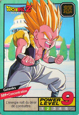 CARTE DRAGON BALL LE GRAND COMBAT N-¦ 509 GOTENKS POWER LEVEL 9