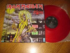 Iron Maiden-Killers LP,Globus Czechoslovakia 92,red vinyl,megarar,unplayed!!!!!