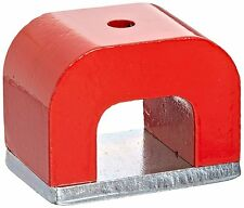 Horse shoe 30lbs Red Cast Horseshoe Heavy-Duty Alnico Power Magnet for Education