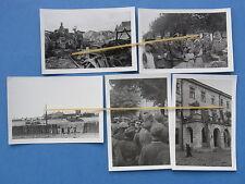 Foto 5x Polen 1939 Sambor etc. Polenfeldzug Krieg