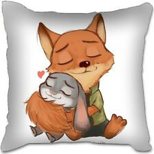 Disney Zootopia Baby Bunny Rabbit Fox Toy Doll Plush Girl Car Pillow Bag Cushion