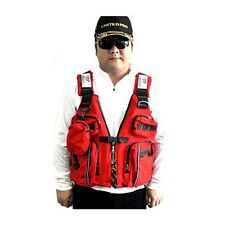Flotation Adult Buoyancy Aid Sailing Kayak Canoeing Life Jacket Vest Red Outdoor