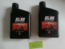 OLIO SELENIA 2 LITRI POWER-SPEED 4T SAE 10W-40 PIAGGIO LIBERTY-APRILIA