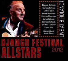 Django Festival Allstars Live At Birdland Gypsy Jazz CD  Dorado Samson Schmitt