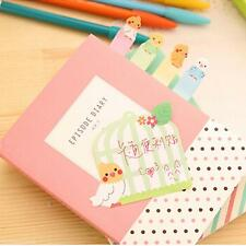 Creative Bookmark Point It Book Mark Post It Memo Sticky Note Message Pad Cover