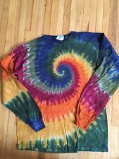 XL earth tone Long Sleeve Tie Dye Shirt - New shirt never been worn!!