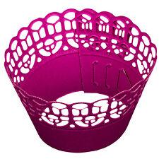 Pink Muffin wraps 12 Pack Décoration de Gâteaux Cuisson